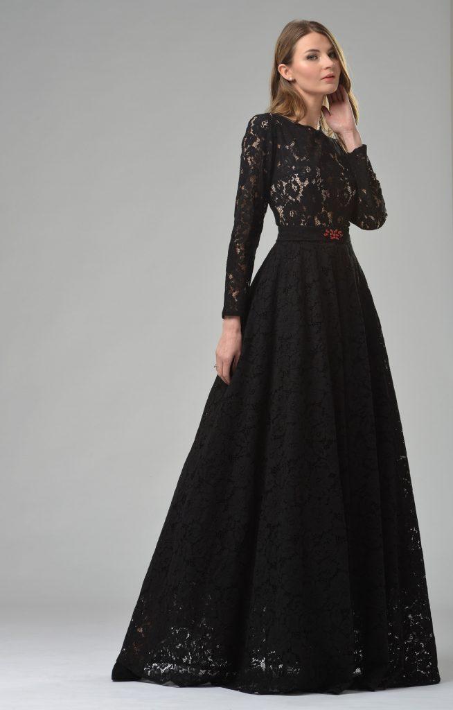zuverlässigste Discounter uk billig verkaufen 17 Schön Kleid Schwarz Lang für 2019 - Abendkleid