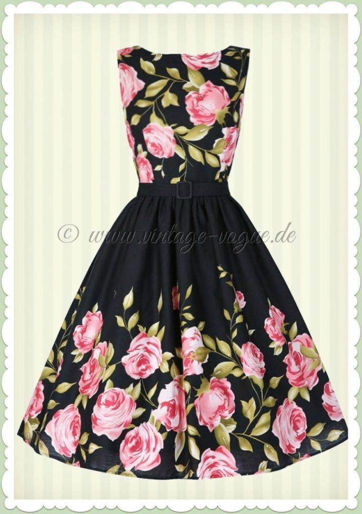 17 Schön Kleid Schwarz Rosa Galerie - Abendkleid