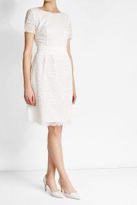 Abend Schön Kleid Weiß Spitze BoutiqueAbend Cool Kleid Weiß Spitze Bester Preis