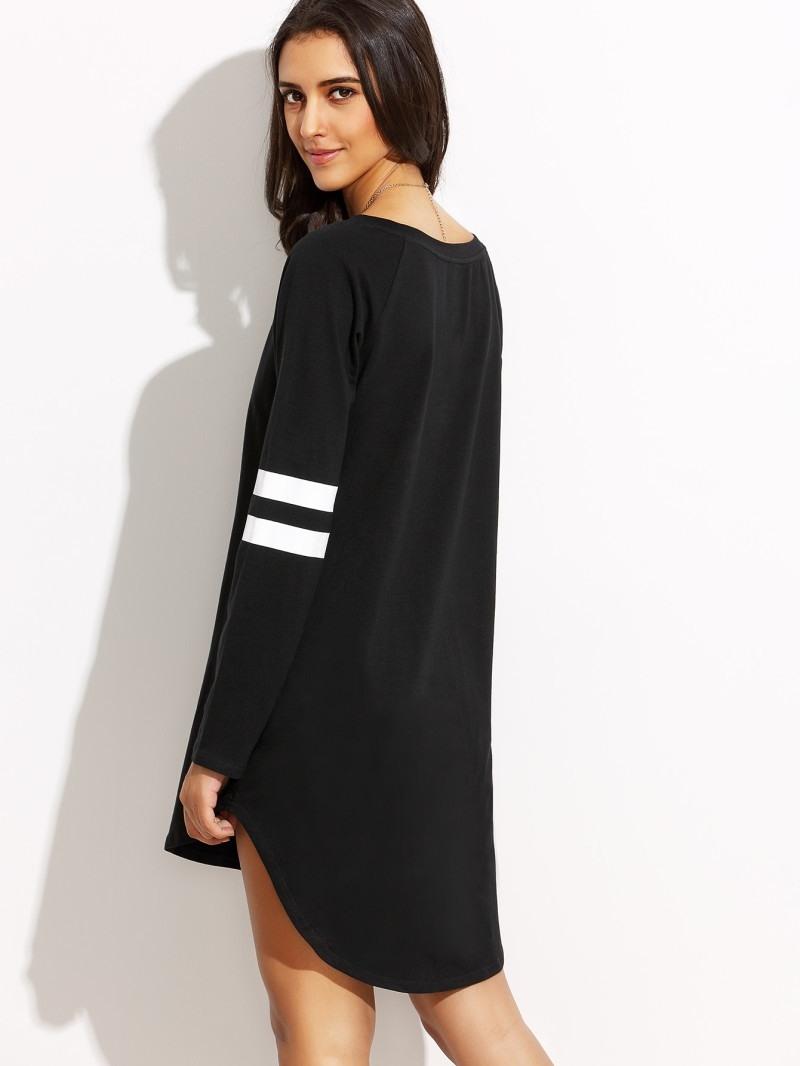 15 Schön Kleider Schwarz Weiß Kurz für 201913 Elegant Kleider Schwarz Weiß Kurz Ärmel