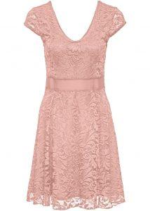 13 Wunderbar Rosa Kleid Mit Spitze StylishDesigner Luxus Rosa Kleid Mit Spitze Galerie