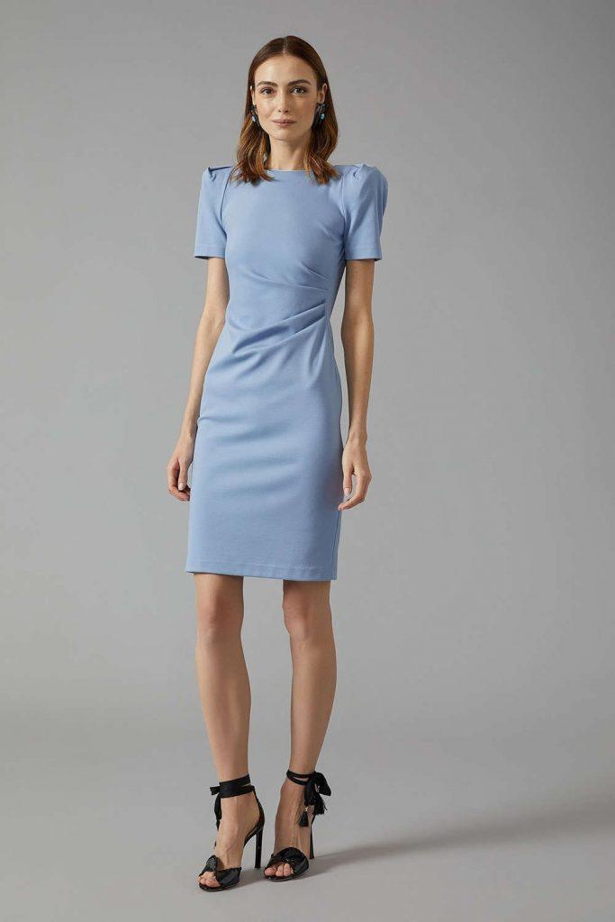 Verkaufsförderung heiß-verkaufende Mode Entdecken Sie die neuesten Trends 20 Cool Blaues Kleid Für Hochzeit Ärmel - Abendkleid