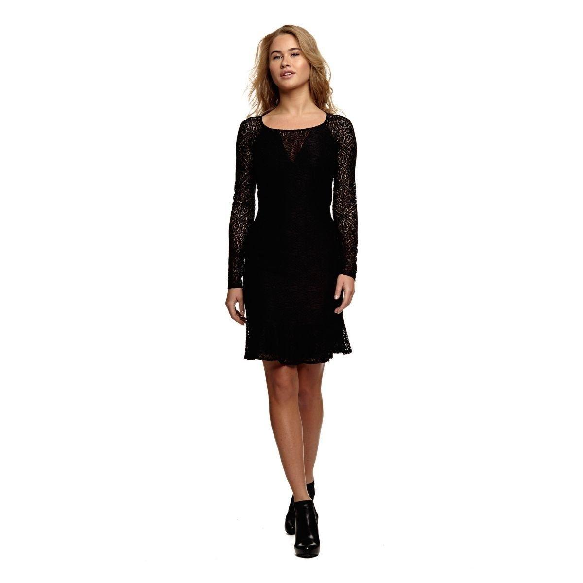 17 Genial Kleid Schwarz Damen Ärmel17 Erstaunlich Kleid Schwarz Damen Spezialgebiet