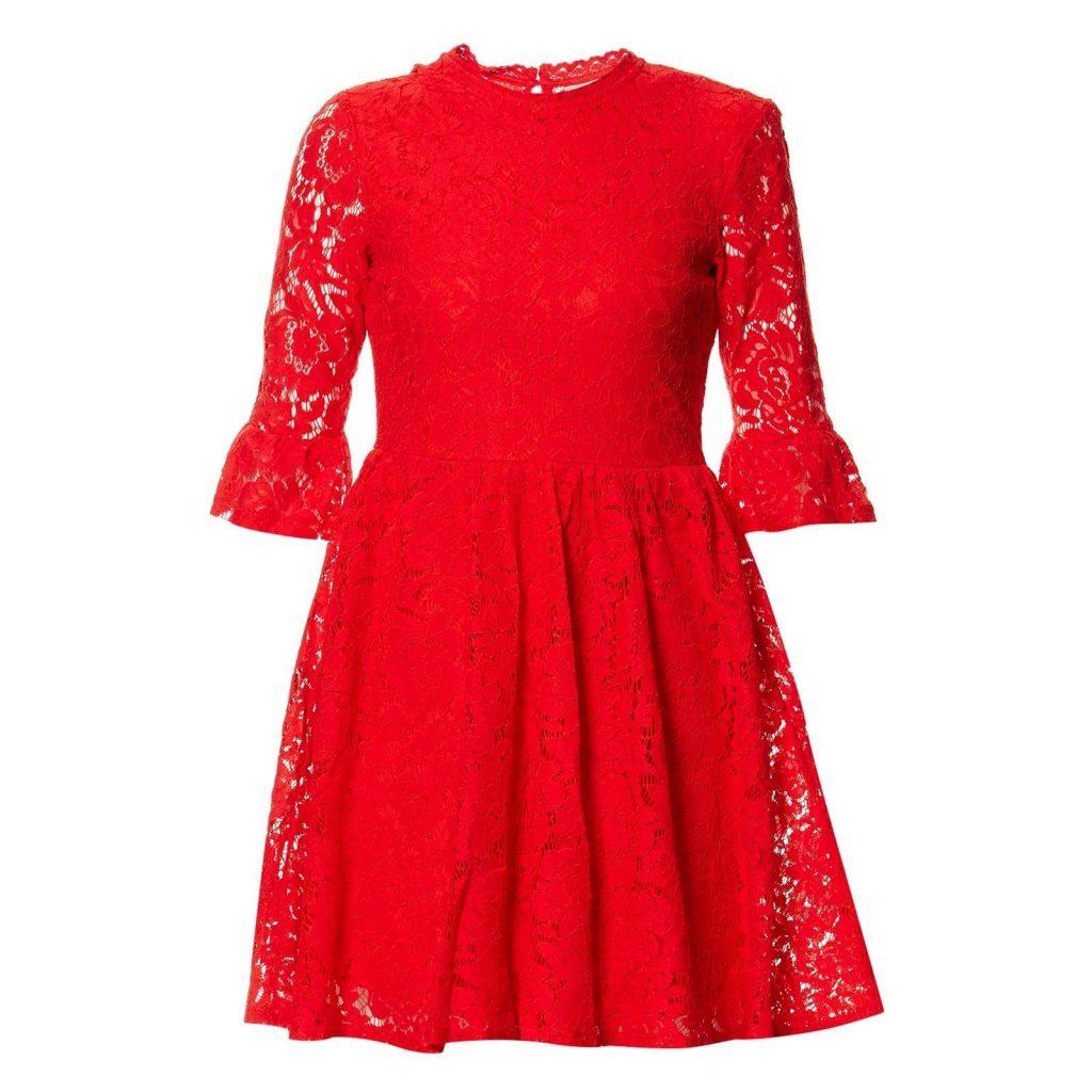 20 Coolste Kleid Rot Spitze Stylish - Abendkleid