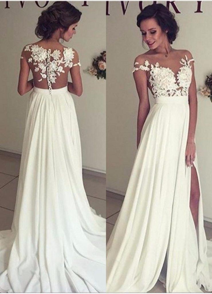 20 einfach abendkleider lang weiß boutique - abendkleid