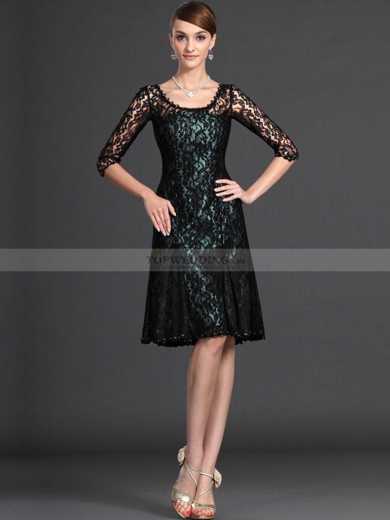 20 Einfach Kleid Knielang Schwarz Boutique - Abendkleid