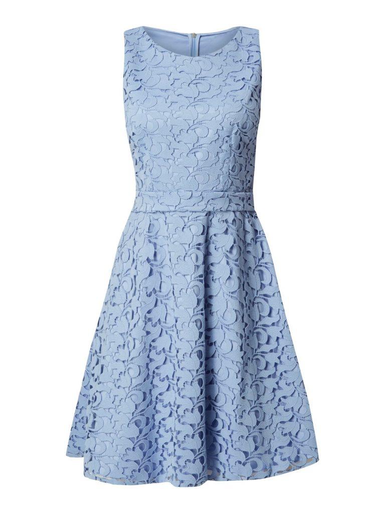 20 Einfach Kleid Mit Spitze Blau Spezialgebiet Abendkleid