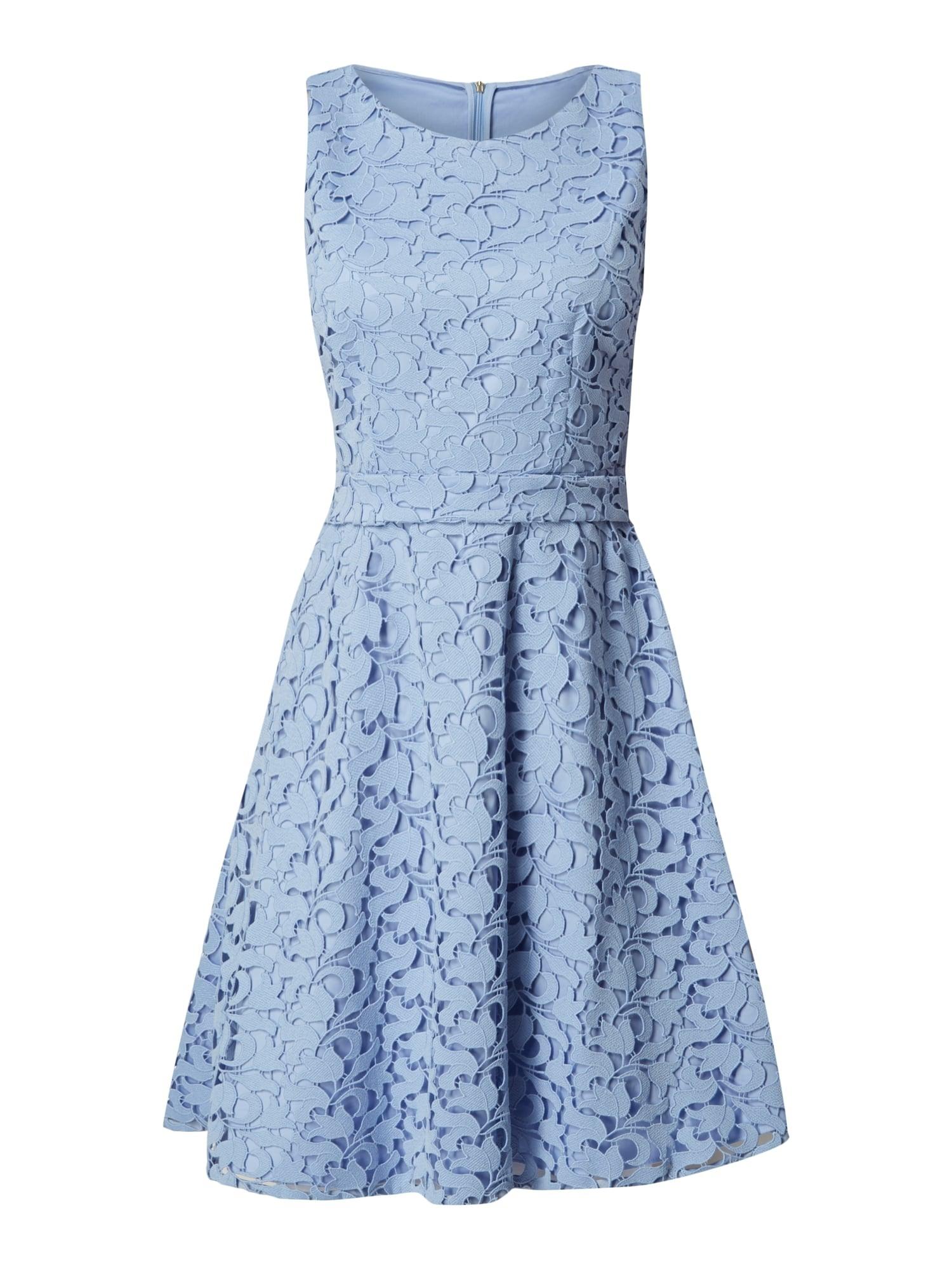 Abend Ausgezeichnet Kleid Mit Spitze Blau für 201915 Großartig Kleid Mit Spitze Blau Ärmel