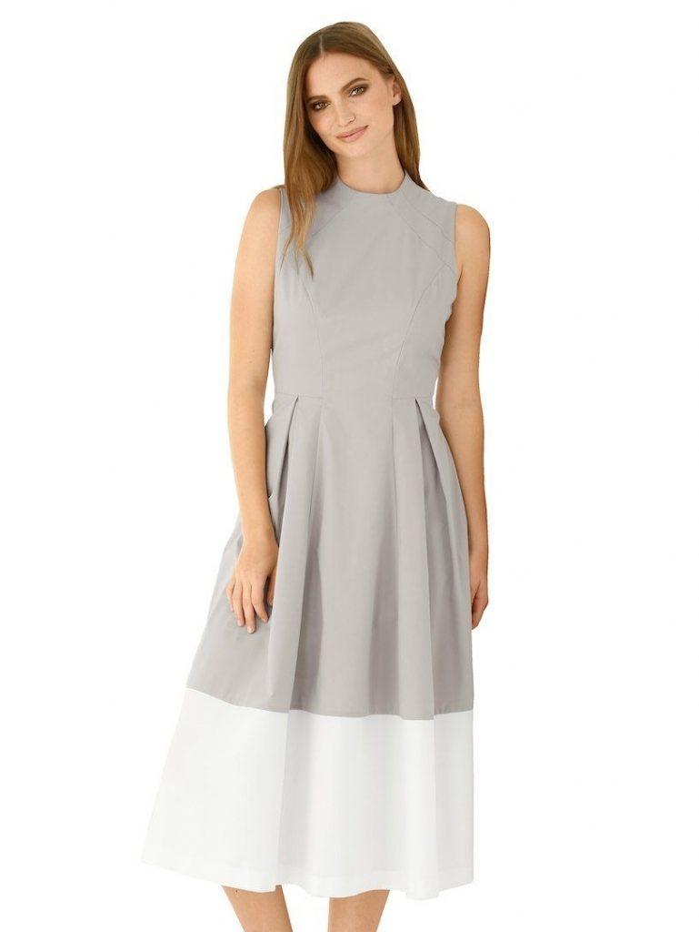 uk availability 622ac 8554f 20 Einfach Sommerkleid Lang Weiß Ärmel - Abendkleid