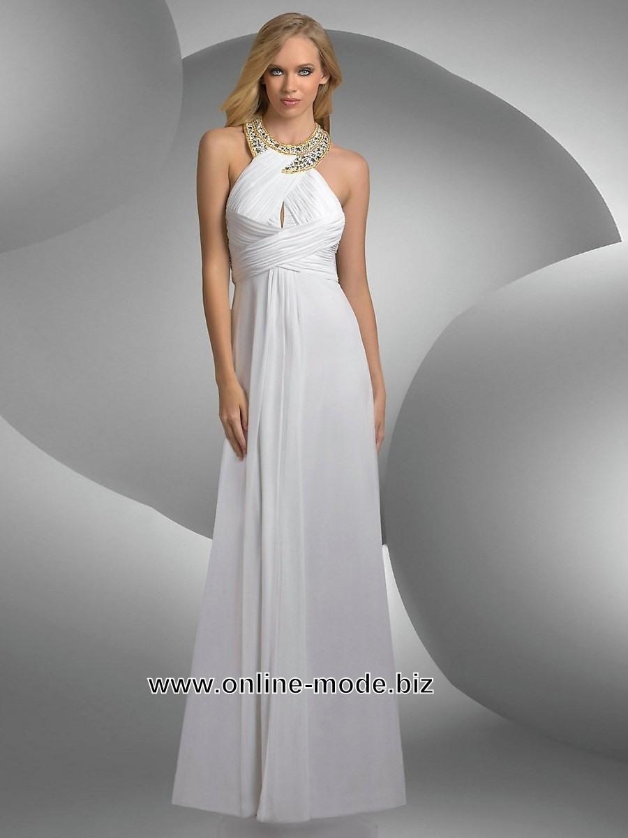 15 Schön Weißes Abendkleid Spezialgebiet10 Genial Weißes Abendkleid Vertrieb