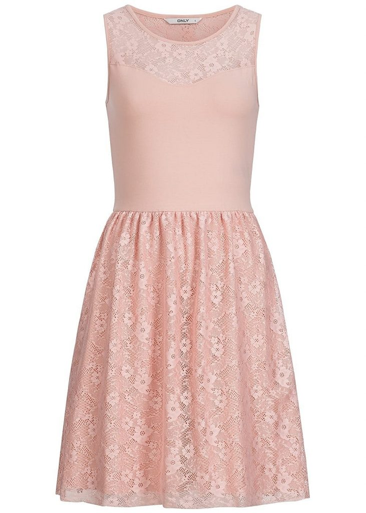 20 Einzigartig Rosa Kleid Mit Spitze Vertrieb - Abendkleid