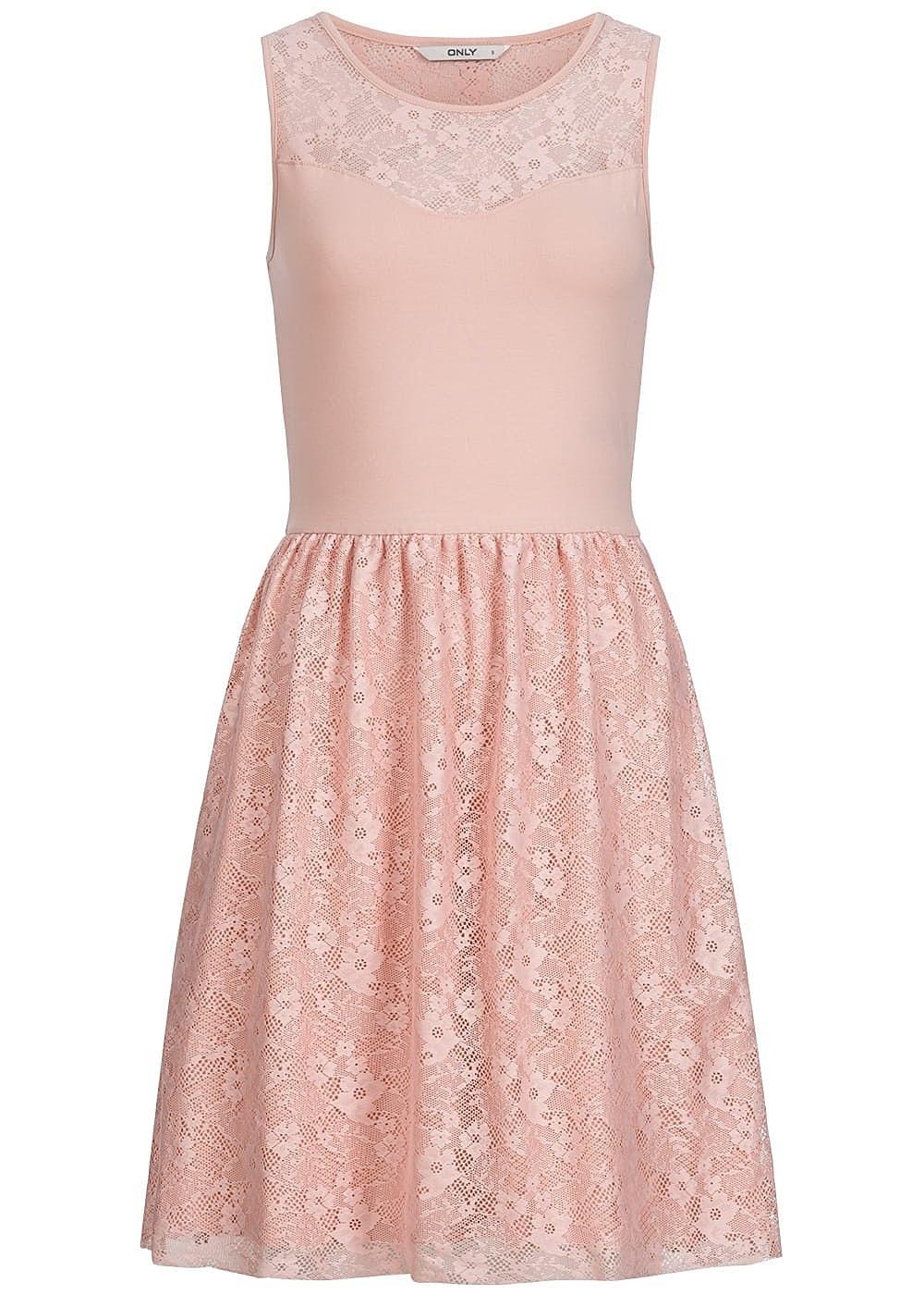 17 Fantastisch Rosa Kleid Mit Spitze Spezialgebiet17 Leicht Rosa Kleid Mit Spitze Ärmel