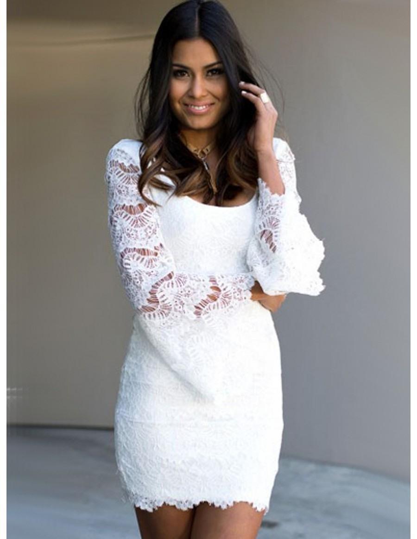 10 Coolste Weißes Kleid Langarm Design Kreativ Weißes Kleid Langarm Boutique