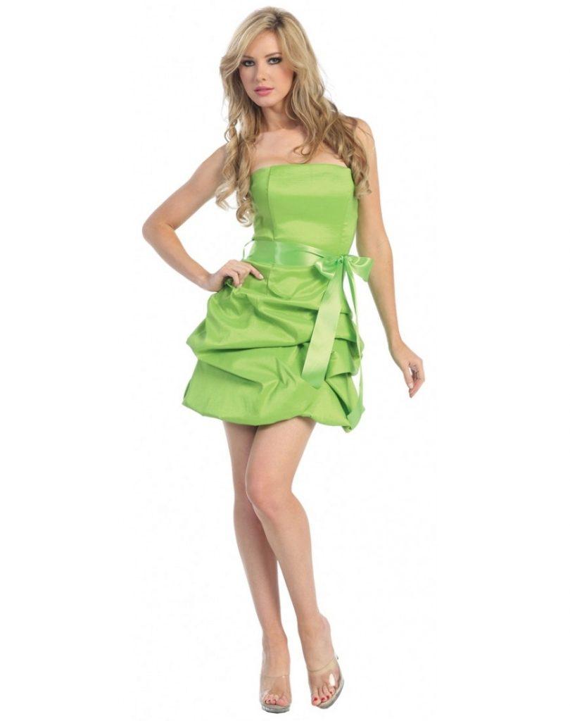 5 Elegant Grünes Kurzes Kleid Boutique - Abendkleid