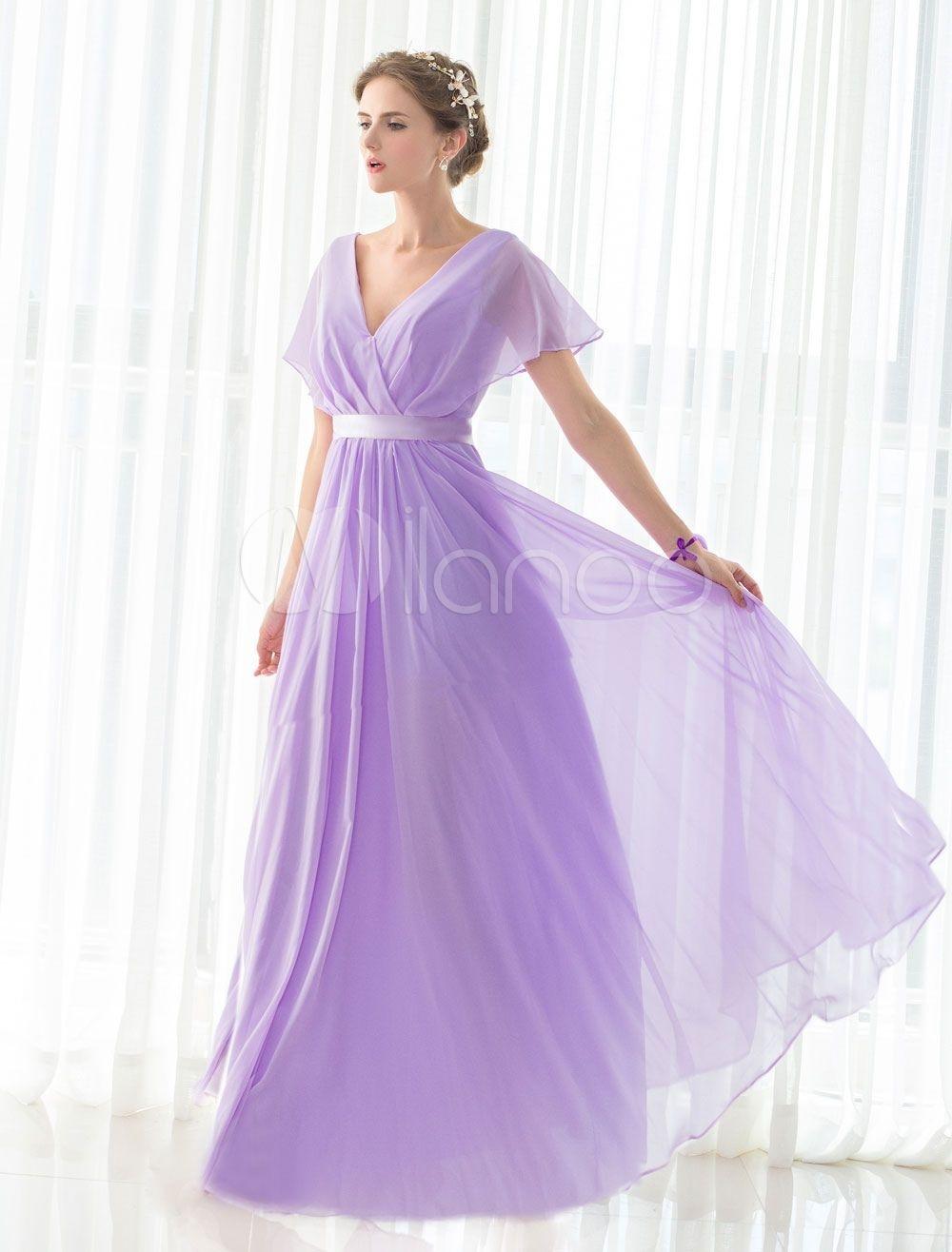 12 Erstaunlich Kleid Lang Flieder Vertrieb - Abendkleid