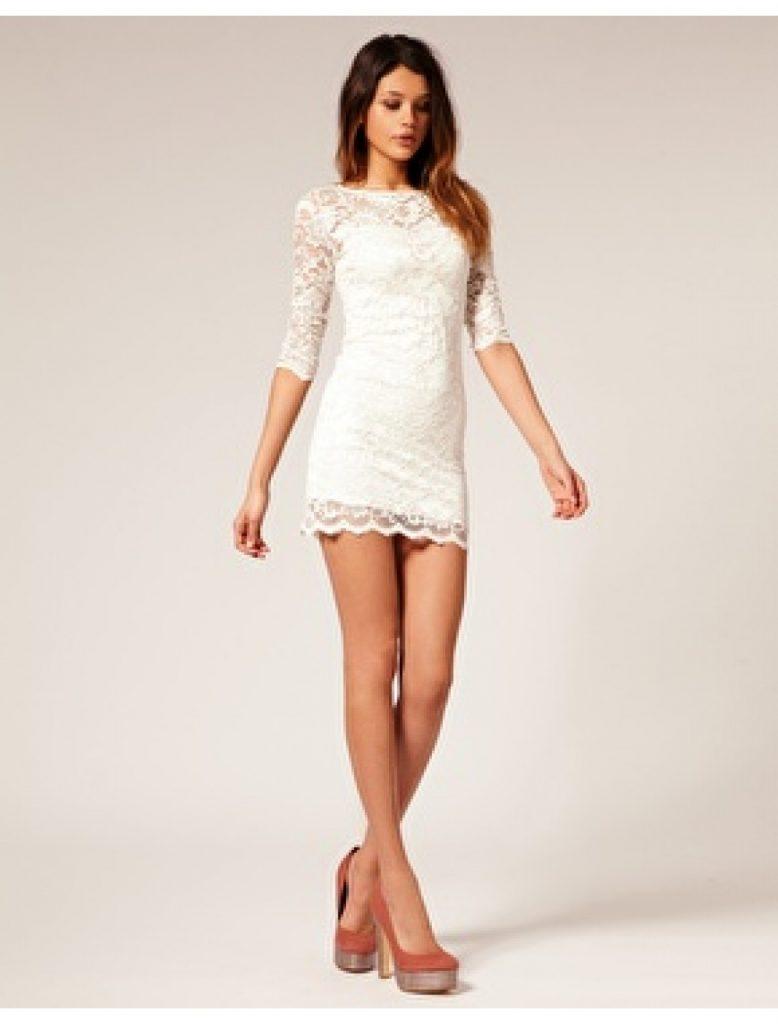 18 Fantastisch Schicke Kleider Kurz Design - Abendkleid