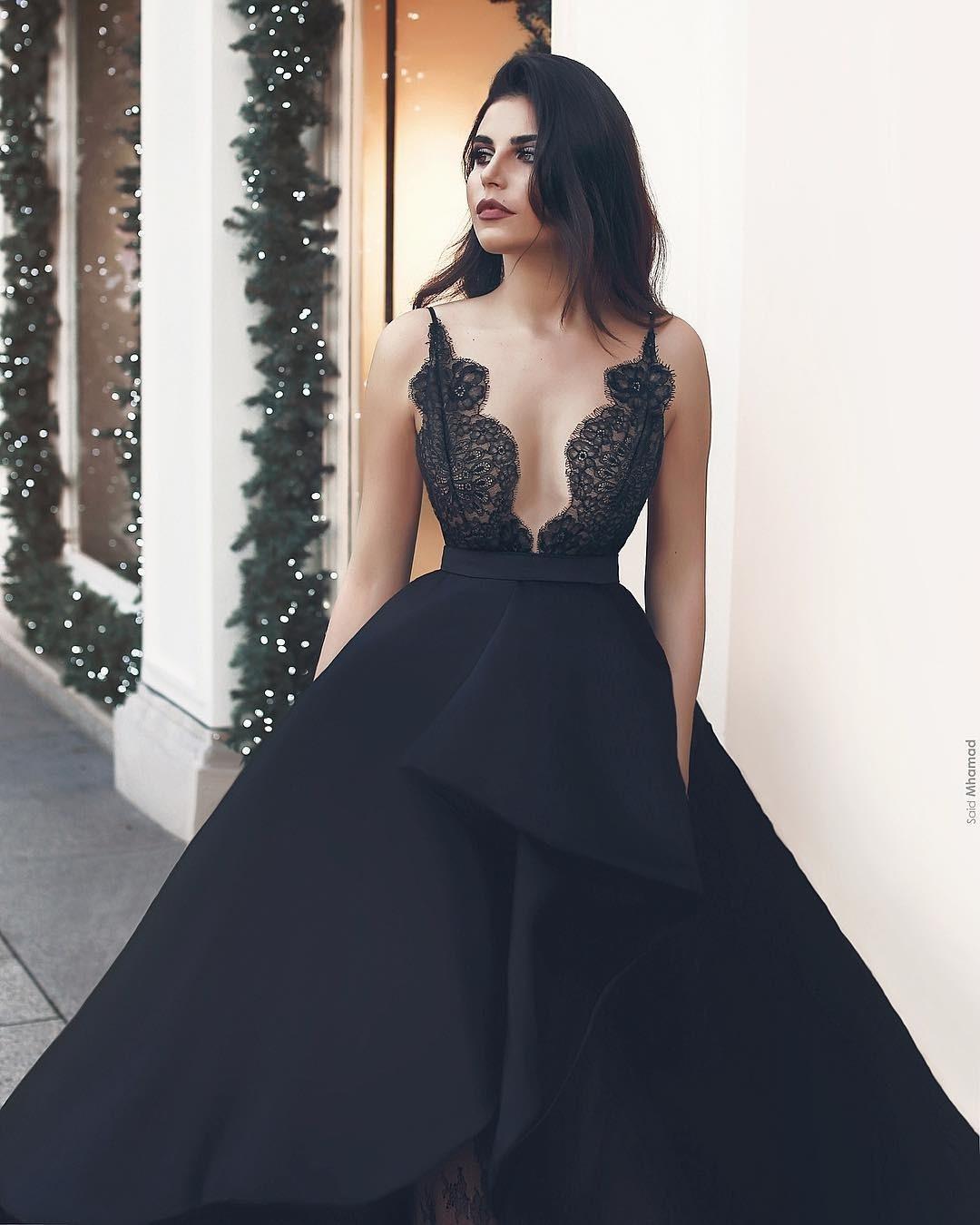 20 Leicht Abendkleid Schwarz Lang Spitze Bester Preis13 Genial Abendkleid Schwarz Lang Spitze Stylish