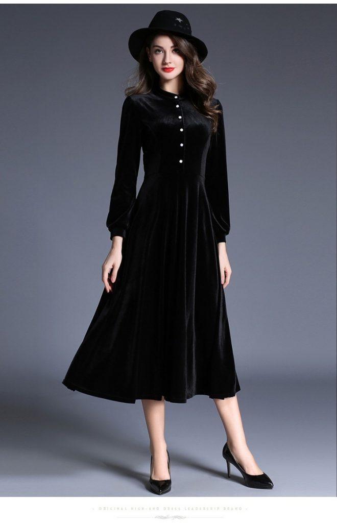 premium selection 11f8e 1014d 20 Kreativ Winterkleider Lang Design - Abendkleid