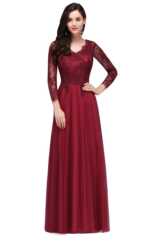 Abend Fantastisch Abendkleid Rot Spitze Lang Boutique13 Luxus Abendkleid Rot Spitze Lang Ärmel