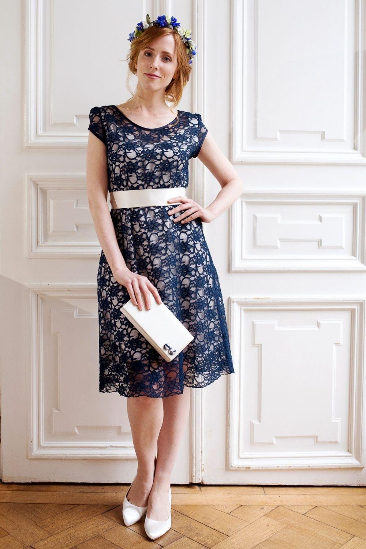 Wunderbar Kleid Hochzeitsgast Blau BoutiqueAbend Schön Kleid Hochzeitsgast Blau Design