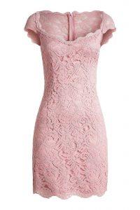 Coolste Rosa Kleid Mit Spitze Galerie20 Fantastisch Rosa Kleid Mit Spitze Ärmel