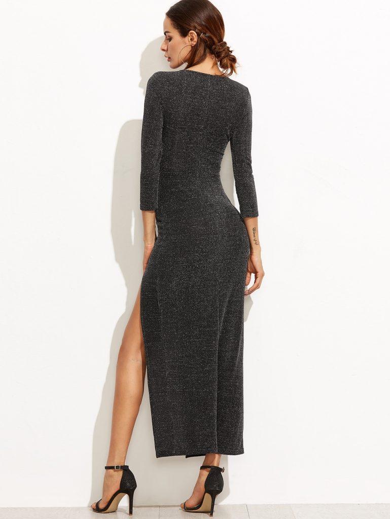 20 Luxurius Kleid Schwarz Lang Stylish - Abendkleid
