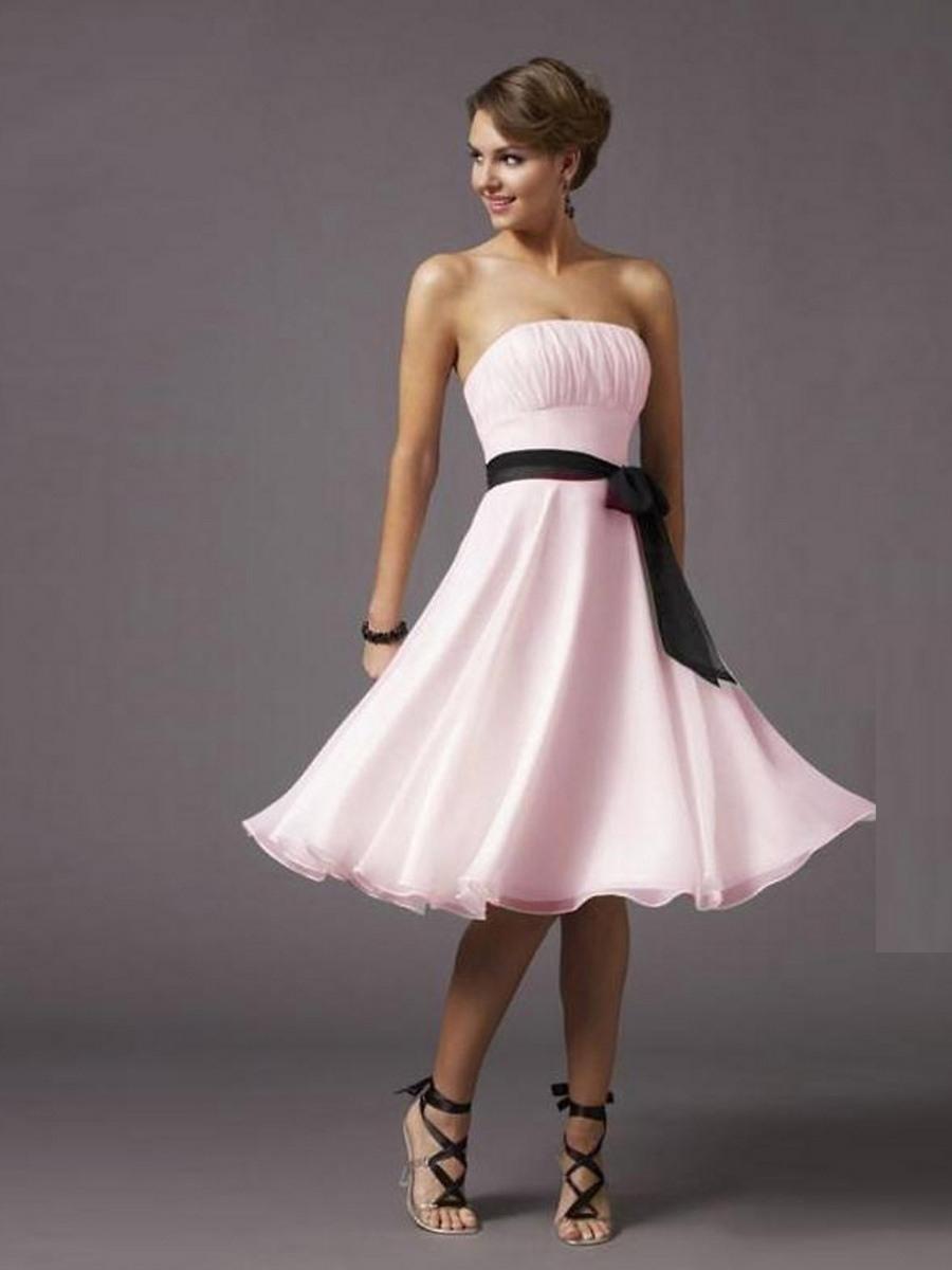 15 Fantastisch Rosa Kleid A Linie Vertrieb17 Wunderbar Rosa Kleid A Linie für 2019