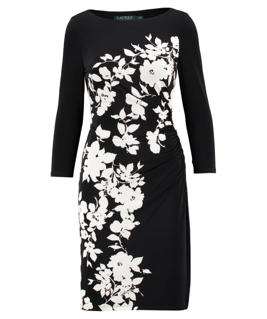 14 Luxus Damen Kleid Schwarz Weiß Design - Abendkleid