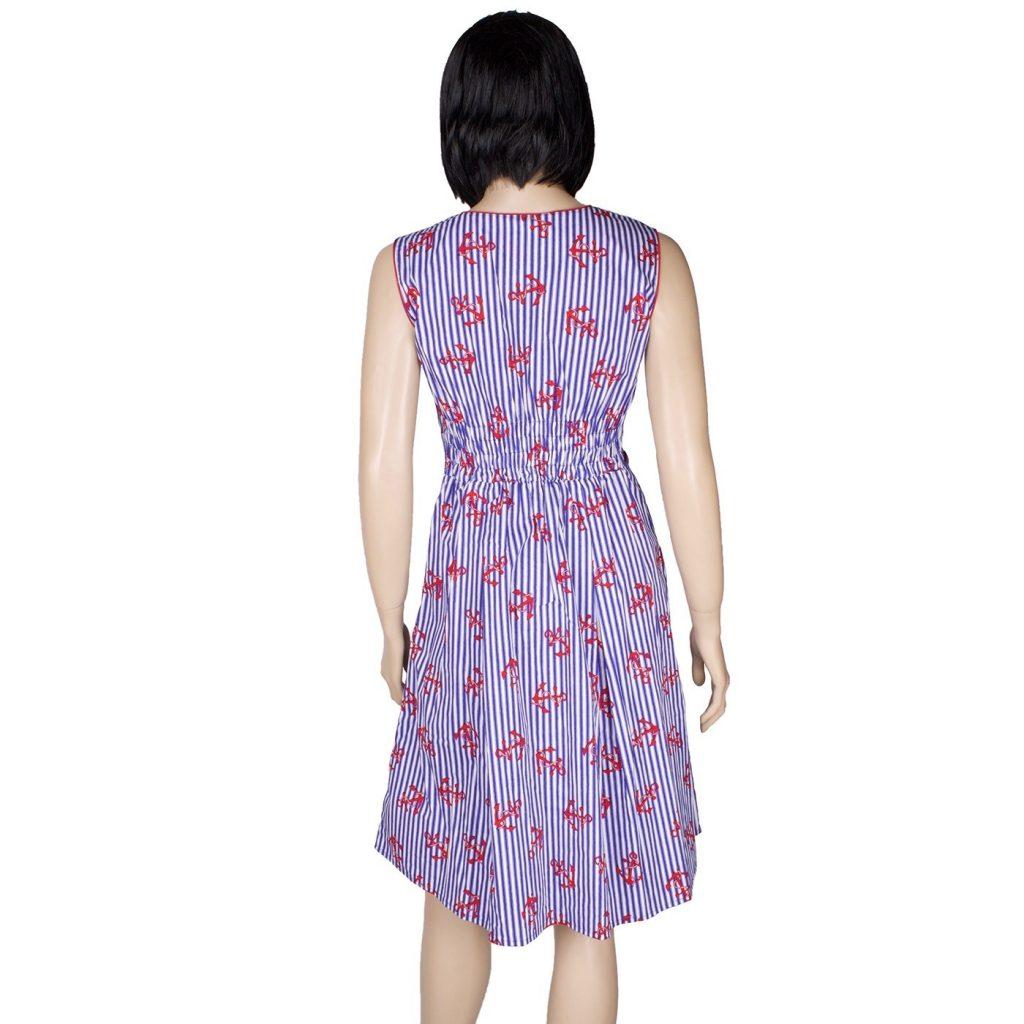 20 luxus kleid blau weiß design - abendkleid