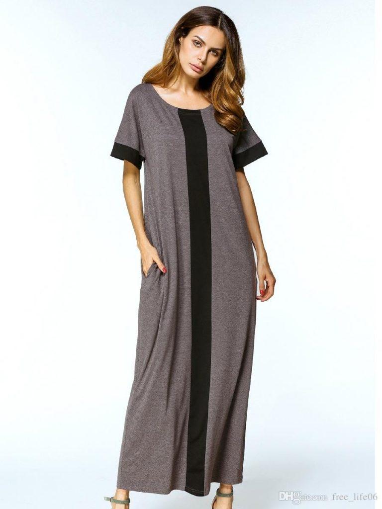20 Luxus Kleid Grau Lang Boutique - Abendkleid