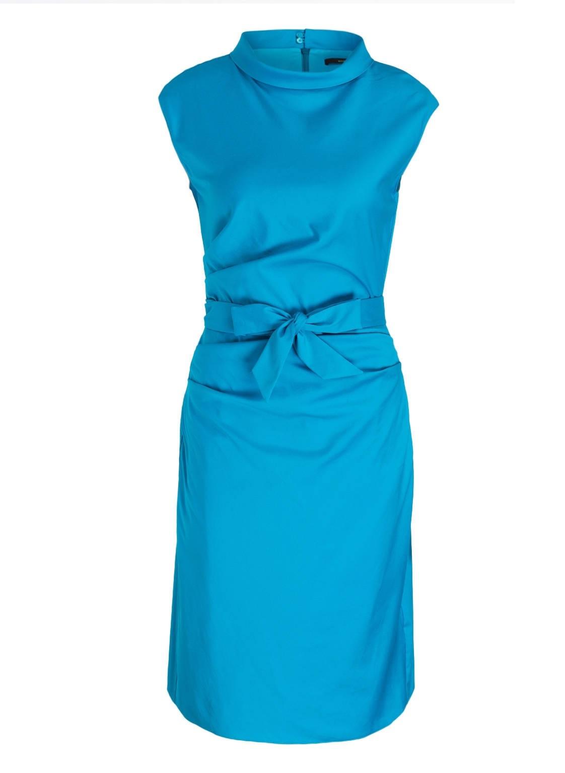 Wunderbar Damen Kleid Türkis ÄrmelDesigner Schön Damen Kleid Türkis Boutique