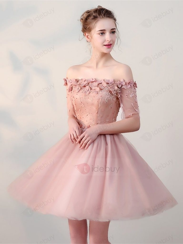 20 Perfekt Kleid Rosa Spitze Kurz Galerie - Abendkleid