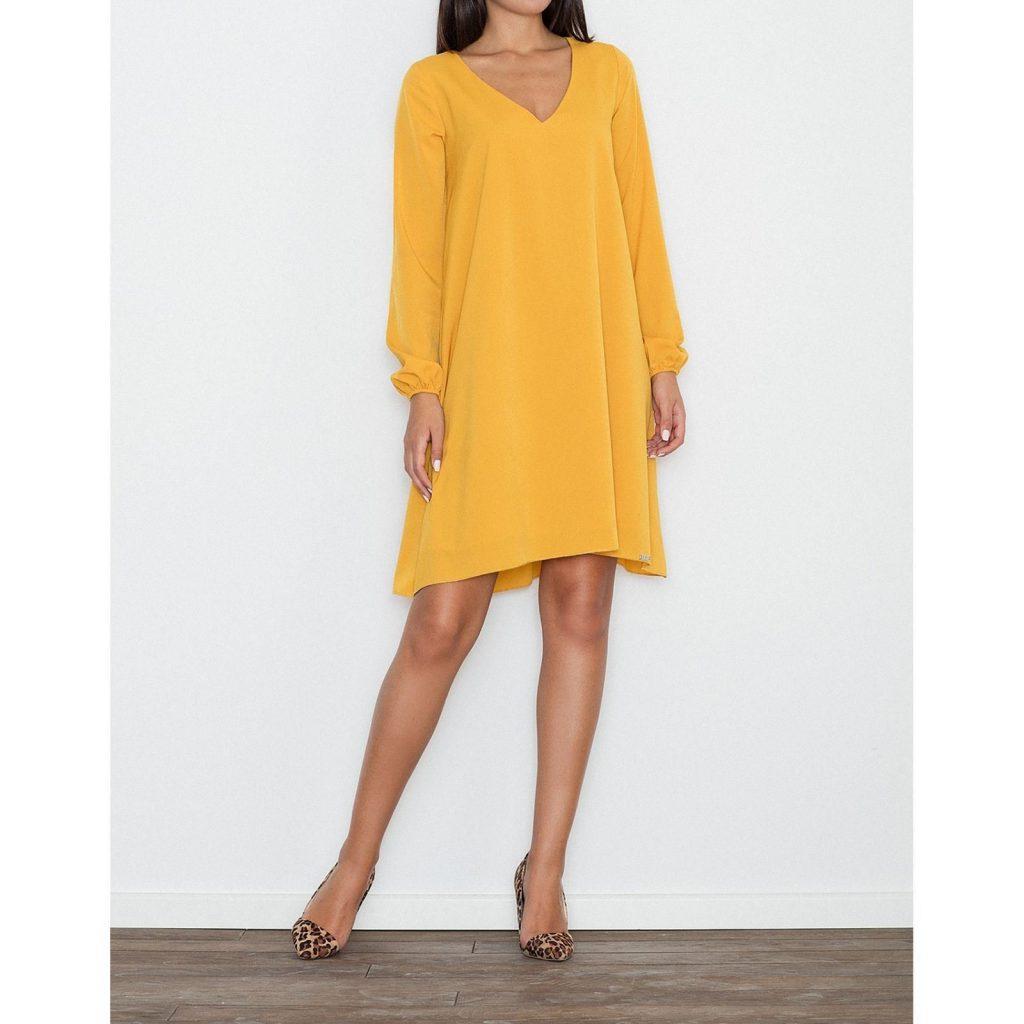 check out 1094d 2f28f 20 Schön Kleid Gelb Stylish - Abendkleid