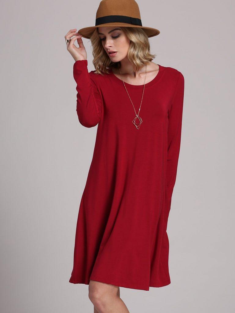 12 Schön Rotes Kleid Langarm Vertrieb - Abendkleid