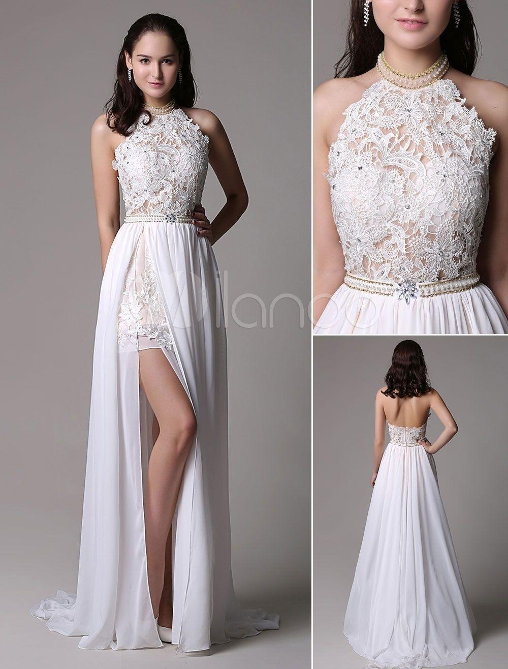Wunderbar Weißes Kleid Elegant Design13 Schön Weißes Kleid Elegant Spezialgebiet
