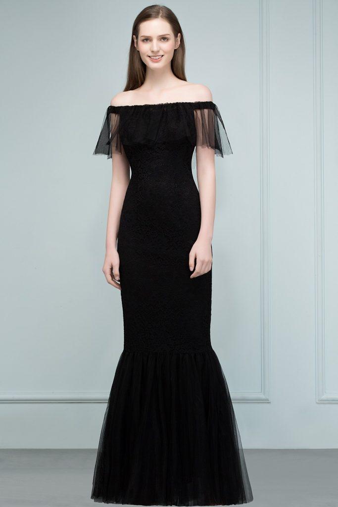 20 Top Abendkleid Schwarz Elegant Design - Abendkleid