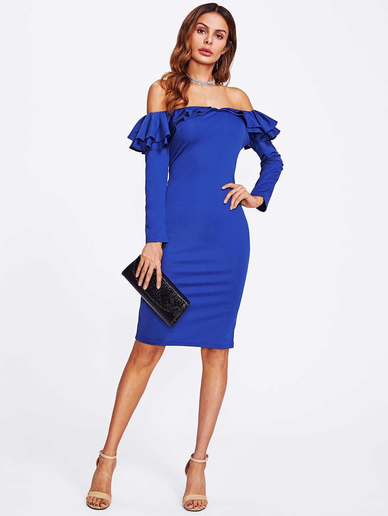 15 Luxus Kleid Blau Langarm Ärmel15 Einfach Kleid Blau Langarm Spezialgebiet
