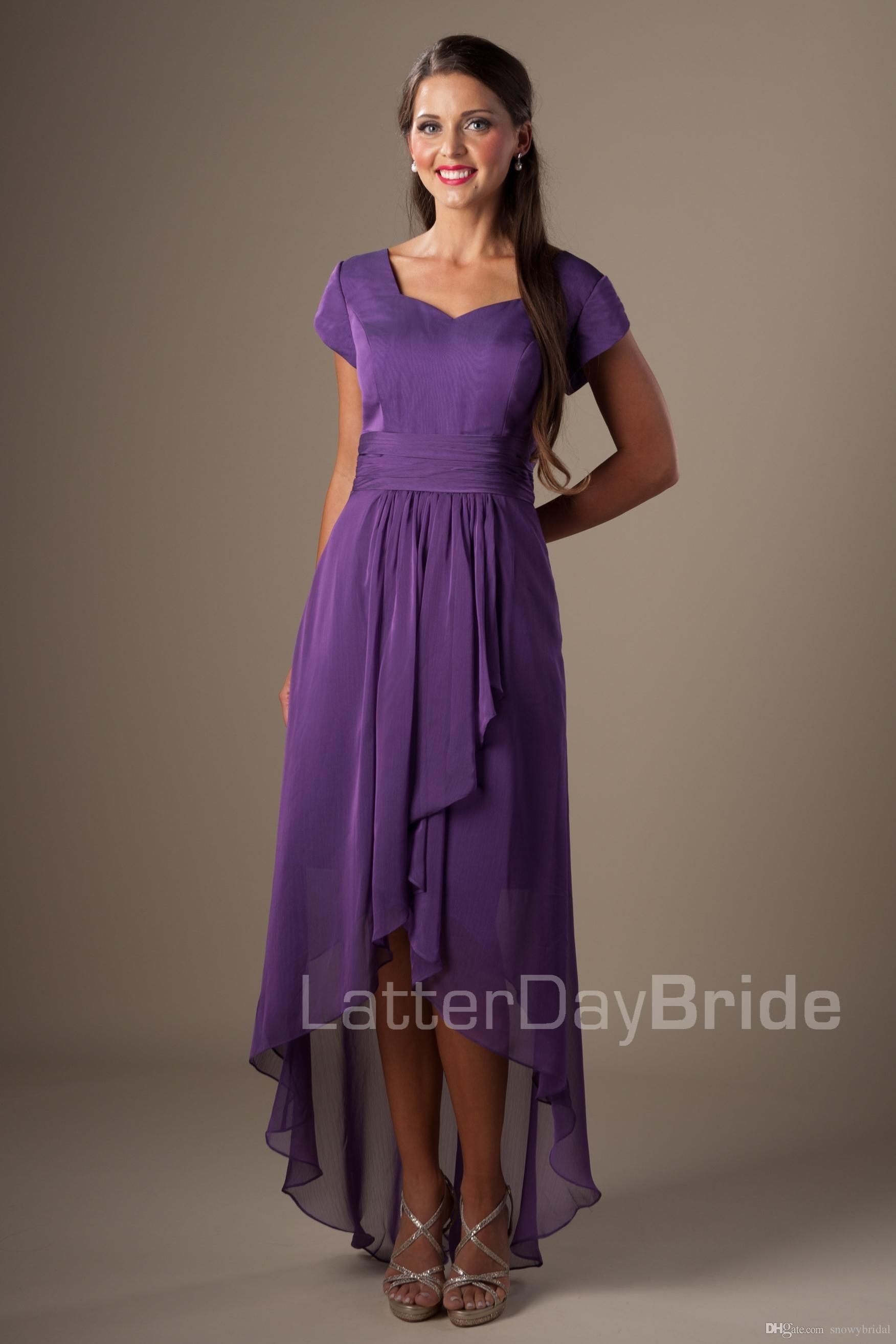 Elegant Kleid Lang Lila VertriebAbend Großartig Kleid Lang Lila Ärmel