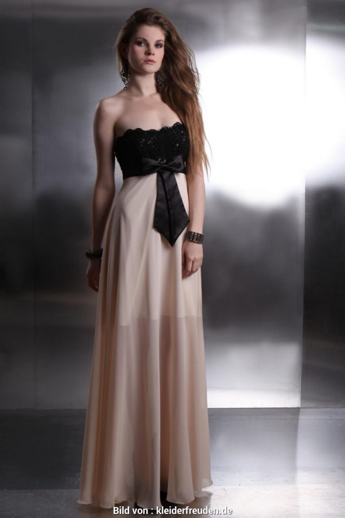 Abend Coolste Abendkleid Creme Lang Design - Abendkleid