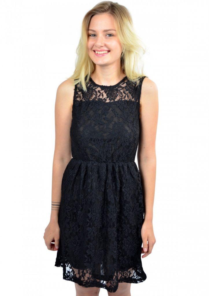 abend coolste schwarzes spitzenkleid stylish abendkleid