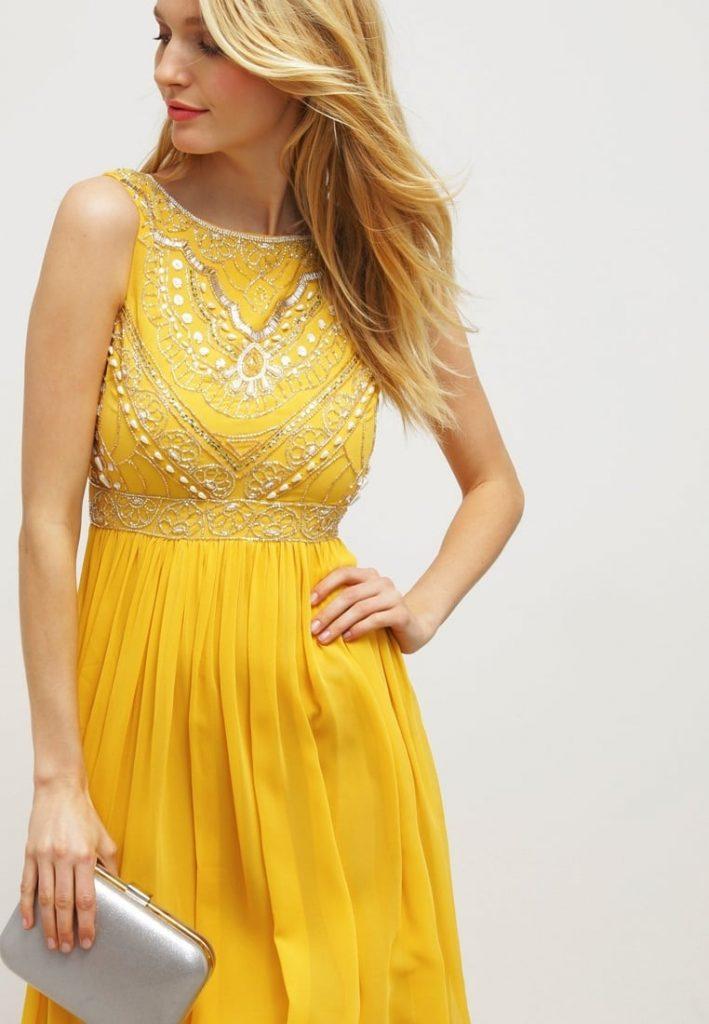 schnelle Farbe populäres Design Trennschuhe Abend Einfach Damen Kleider Festlich Design - Abendkleid