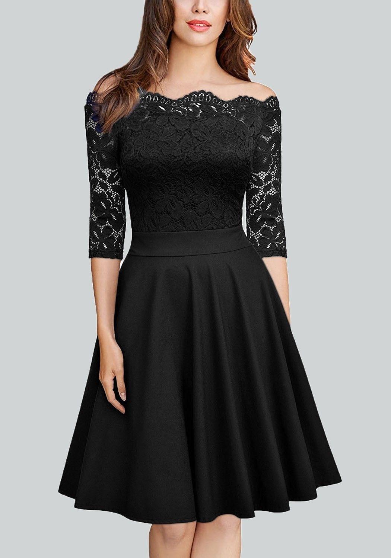Einfach Partykleid Schwarz für 201920 Wunderbar Partykleid Schwarz Stylish