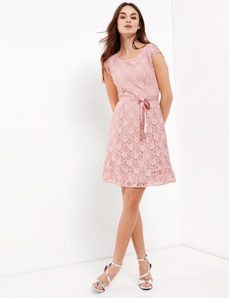 Abend Elegant Spitzenkleid Kurz Stylish - Abendkleid