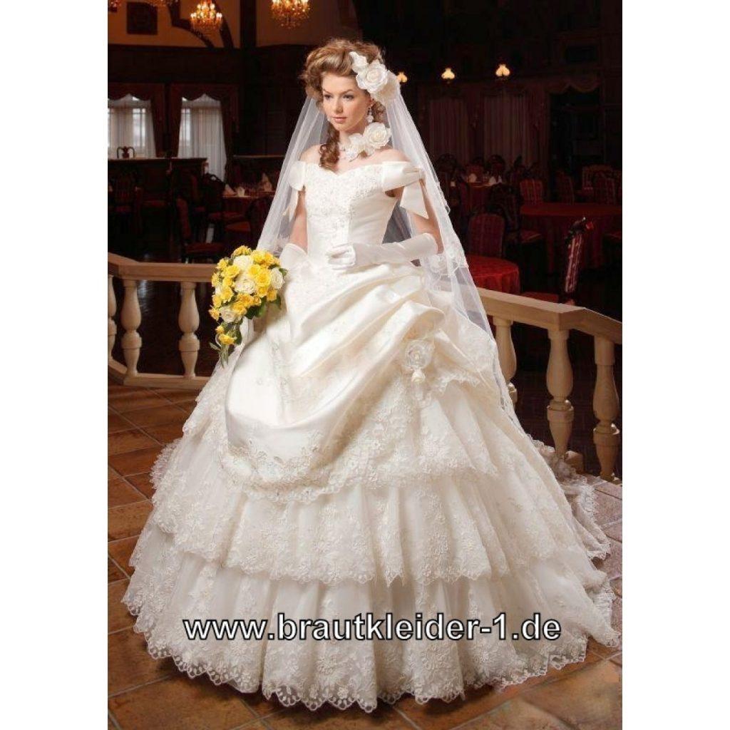 Abend Fantastisch Sissi Brautkleid Galerie - Abendkleid