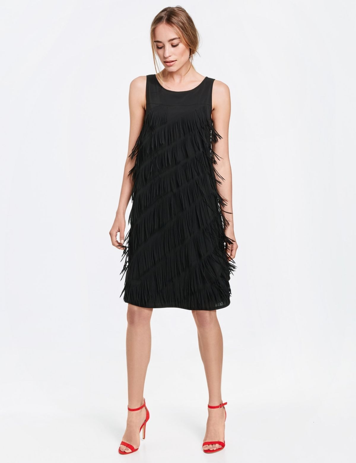 Designer Ausgezeichnet Kleid Mit Fransen DesignAbend Schön Kleid Mit Fransen Galerie