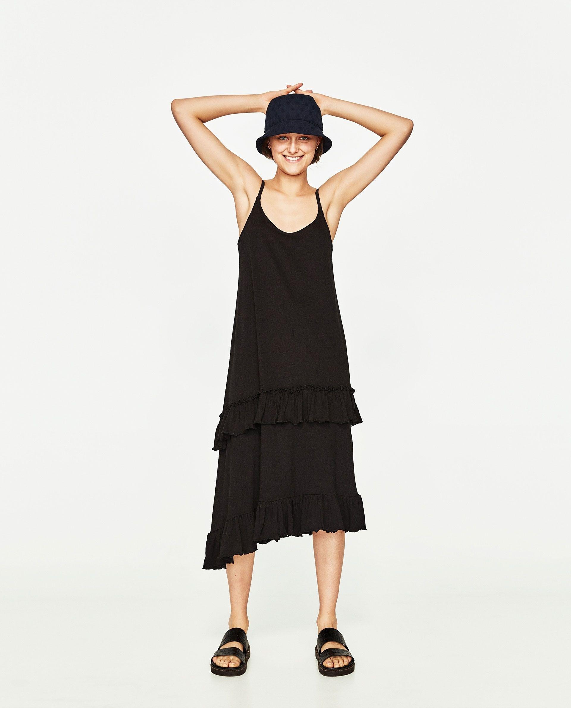17 Ausgezeichnet Damen Sommerkleider Midi Stylish Großartig Damen Sommerkleider Midi Ärmel