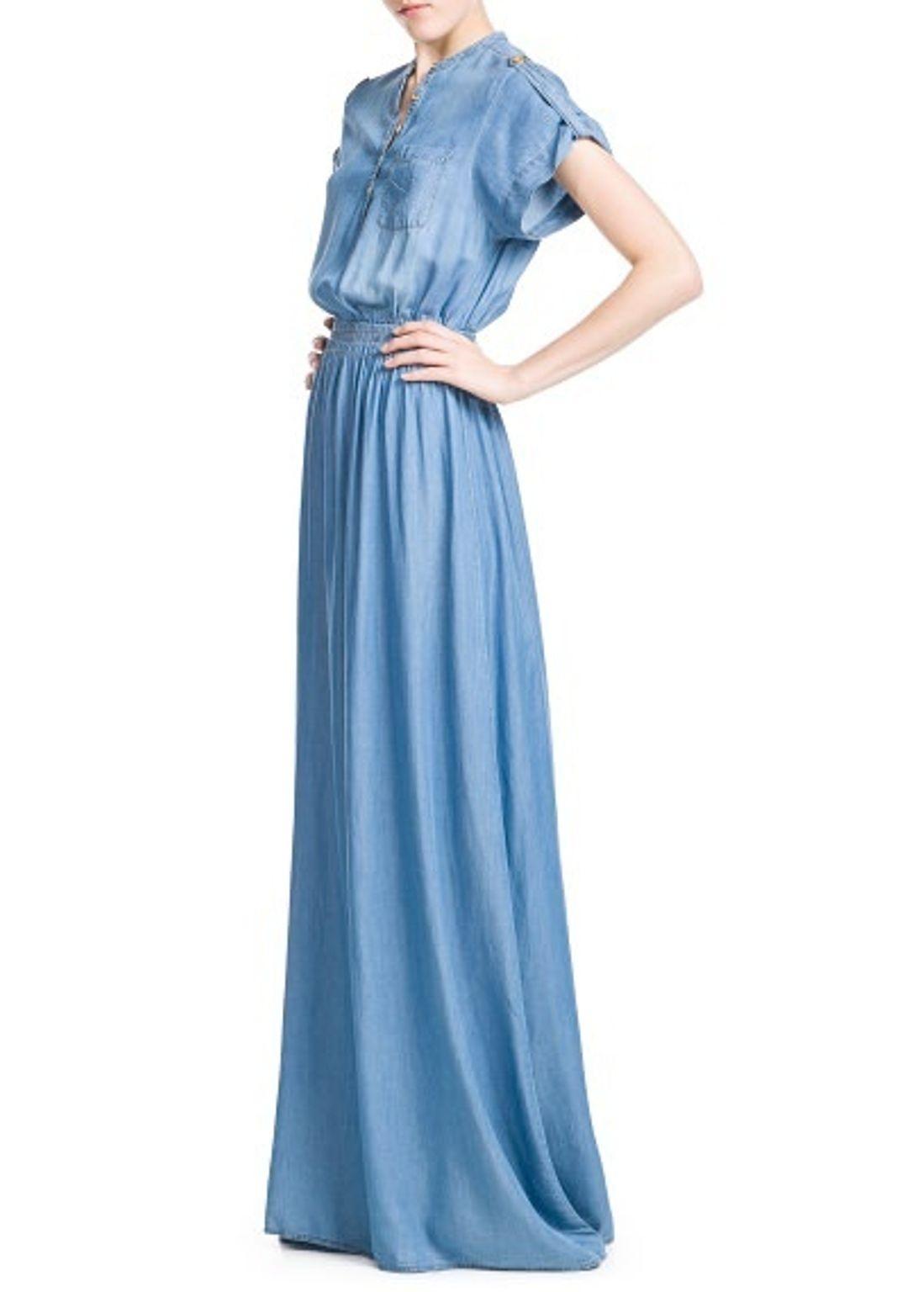 17 Erstaunlich Jeans Kleid Maxi Spezialgebiet17 Schön Jeans Kleid Maxi Ärmel