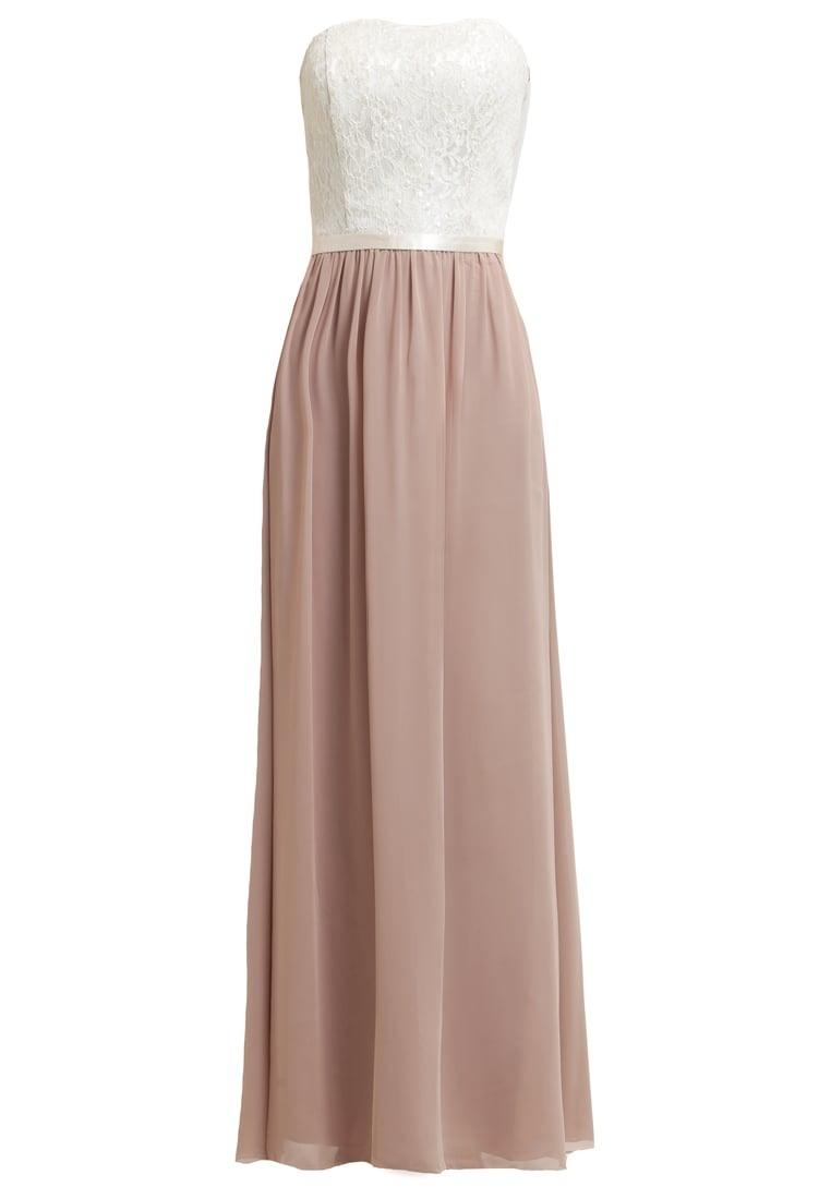 Abend Großartig Kleid Lang Beige GalerieDesigner Spektakulär Kleid Lang Beige Boutique