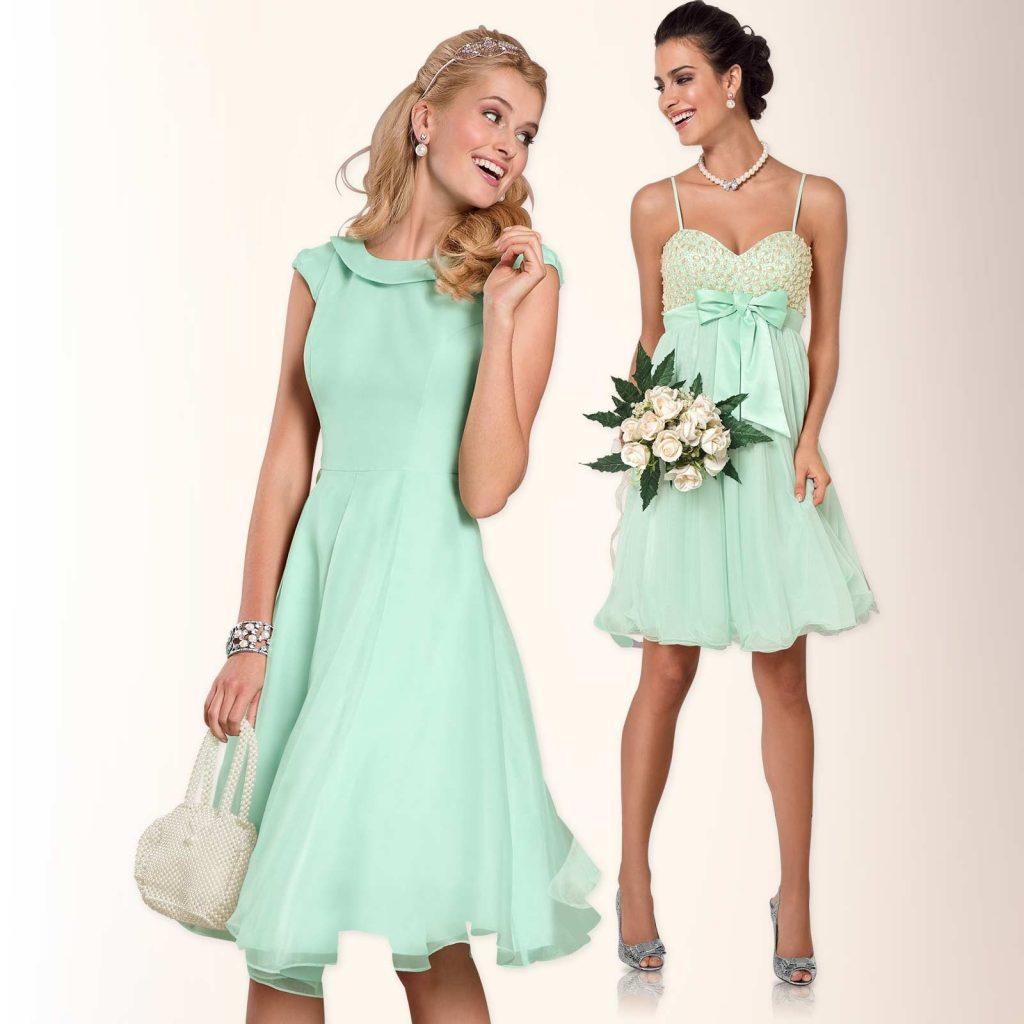 abend leicht kleider elegant hochzeit Ärmel - abendkleid