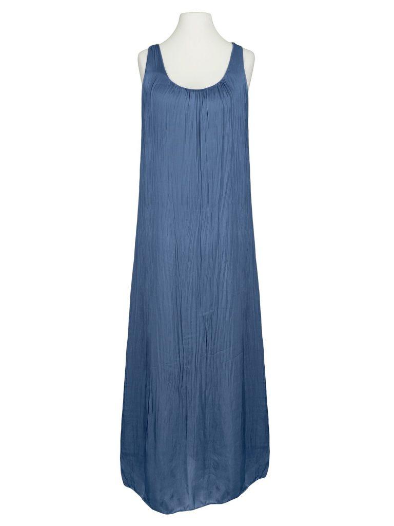 Abend Luxurius Kleid Lang Blau Ärmel - Abendkleid